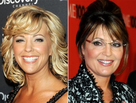 Kate Gosselin and Sarah Palin