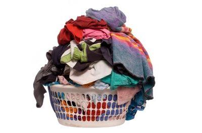 Baby Laundry Pile Up