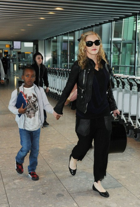 Madonna and Sons Back in London
