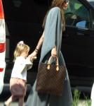 Angelina Jolie Takes Her Children to Indoor Playpark in Malta