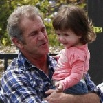 Mel Gibson With daughter Lucia