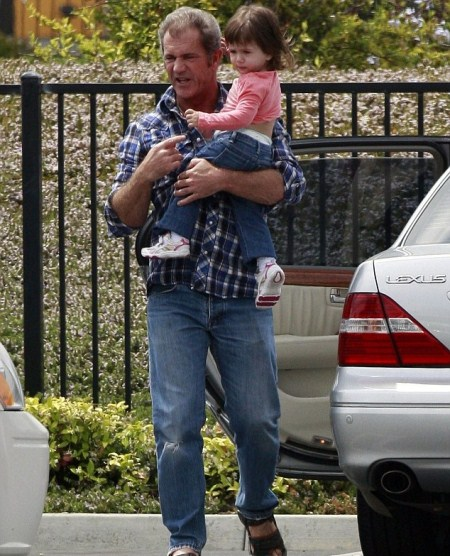 Mel Gibson and Daughter Lucia