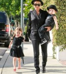 Nicole Richie and Her Children, Harrow and Sparrow