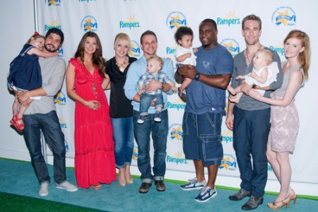 Stars Celebrate Pampers 50th Birthday