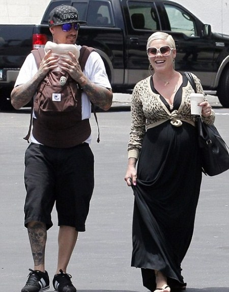 Pink and Carey Hart Out With Daughter Willow