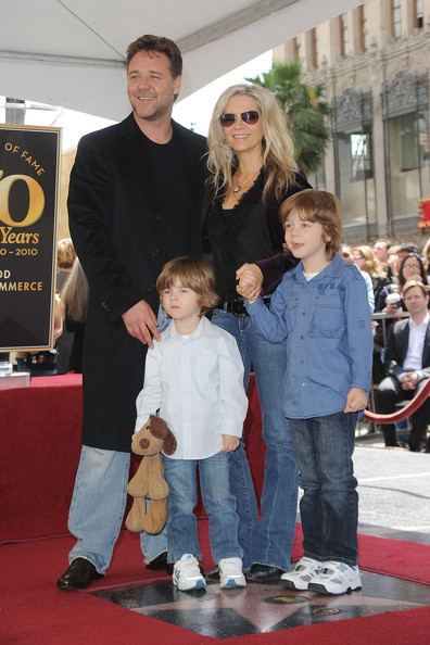 Russell Crowe and Children