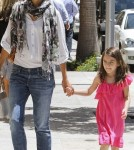 Katie Holmes and Suri Cruise Go Shopping