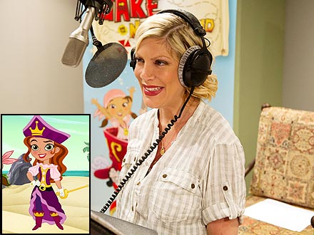 Tori Spelling Lends Her Voice to Jake and the Never Land Pirates