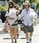 Tom Cruise, Katie Holmes and Suri Cruise in Miami