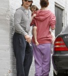 Tom Cruise and Katie Holmes with Daughter Suri