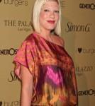 Tori Spelling in Las Vegas