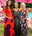 Pregnant Celebs in Maxi Dresses