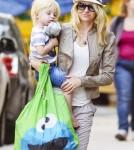 Naomi Watts and Son Kai
