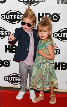 Tori Spelling's Kids Looking Pretty Fly