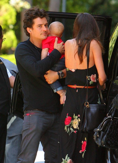 Orlando Bloom Loves The Smell Of His Son