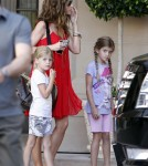 Grandpa Irv Helps Denise Richards With New Baby Eloise