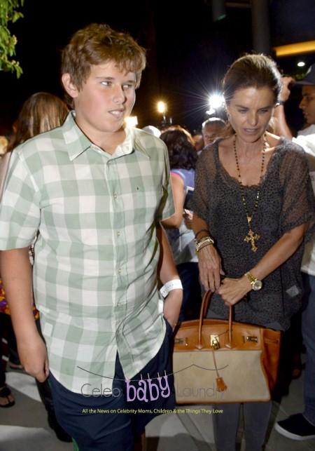 Maria Shriver Takes Her Son Chris Schwarzenegger To Dinner With Oprah Winfrey