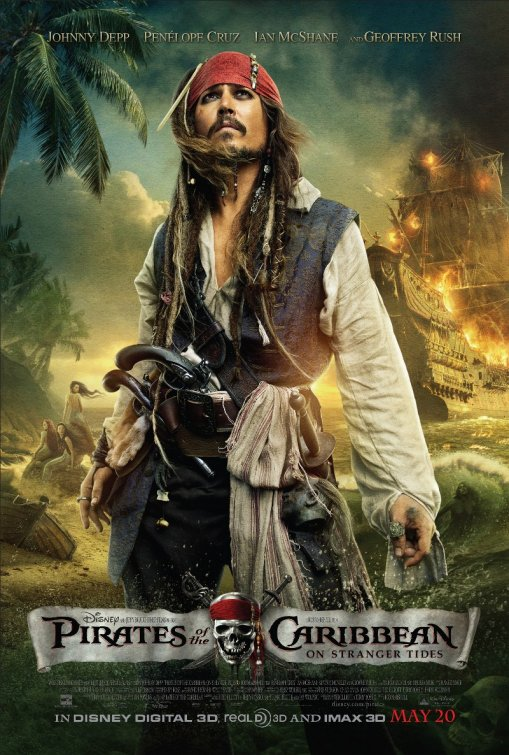 Pirates Of The Caribbean: On Stranger Tides Crossed $1 Billion In Box Office Sales