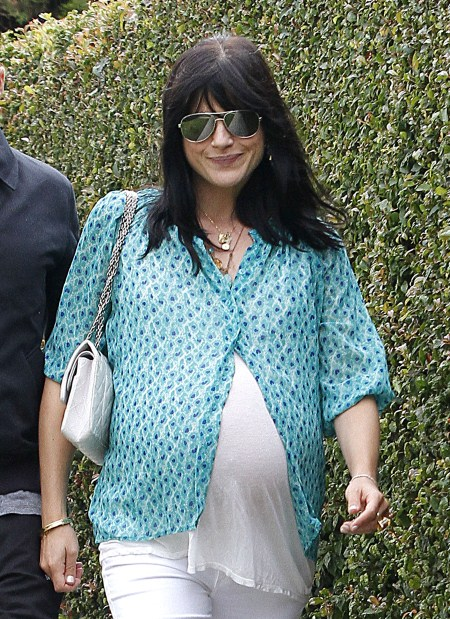 Selma Blair Overdue With Baby