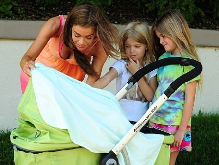 Denise Richards and Eldest Children Love Baby Eloise