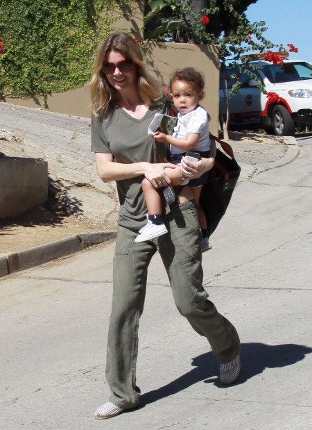 Ellen Pompeo With Daughter Stella Ivery