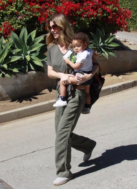 Ellen Pompeo With Daughter Stella Ivery