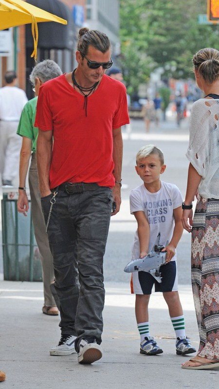 Gavin Rossdale and Kingston Spend the Day Together