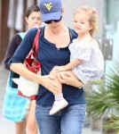 Jennifer Garner With Her daughter Seraphina
