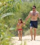 Hugh Jackman, his wife Deborra-Lee Furness and their children, Oscar Maximillian and Ava Eliot
