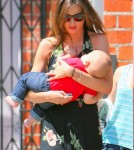 Miranda Kerr With Son Flynn