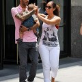 Alicia Keys and Swizz Beatz take baby Egypt Out in NYC