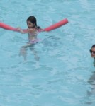 Katie Holmes and Suri Cruise Go For a Swim