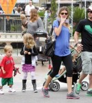 MarK Wahlberg With Wife and Children