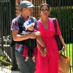 Alanis Morissette With Husband and Son Ever in LA