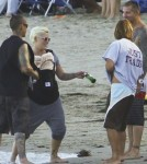 Pink and Carey Hart Take Willow Sage to the Beach
