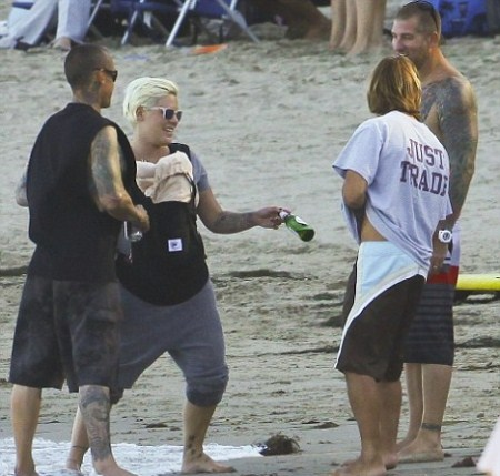Pink and Carey Hart Love Taking Willow Sage to The Beach