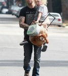 Pete Wentz Picks Up Bronx From Pre-School