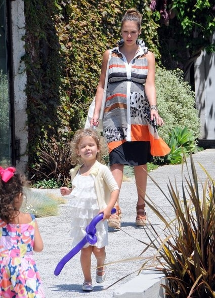 Jessica Alba & Honor Spend Quality Time