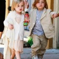 Happy 3rd Birthday, Vivienne and Knox Jolie-Pitt!