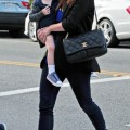 Alyson Hannigan And Daughter Satyana Out In Santa Monica