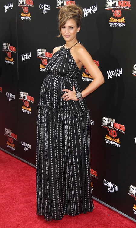 Jessica Alba at Spy Kids: All The Time In The World In 4D Premiere in LA