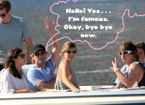 Jon Bon Jovi On Vaca With The Family