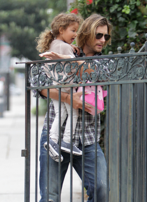 Gabriel Aubry and Nahla -- Some Tension Between The Two?