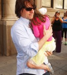 Tom And Suri Cruise Head Out For A Playdate!