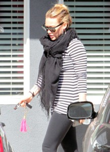 Hilary Duff Continues To Workout During Pregnancy