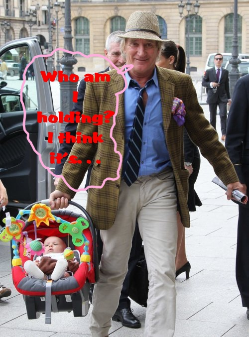 Rod Stewart Is A Good Daddy! | Celeb Baby Laundry