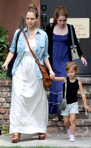 Jessica Alba Post Pregnancy Look