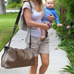 Ali Larter and Teddy Run Errands