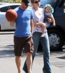 Amy Adams and her daughter Aviana Olea Le Gallo
