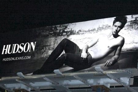 Arnold Schwarzenegger's Son Models For Hudson Jeans